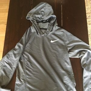 Nike Elite Dri Fit Lightweight Hoodie Boys Large